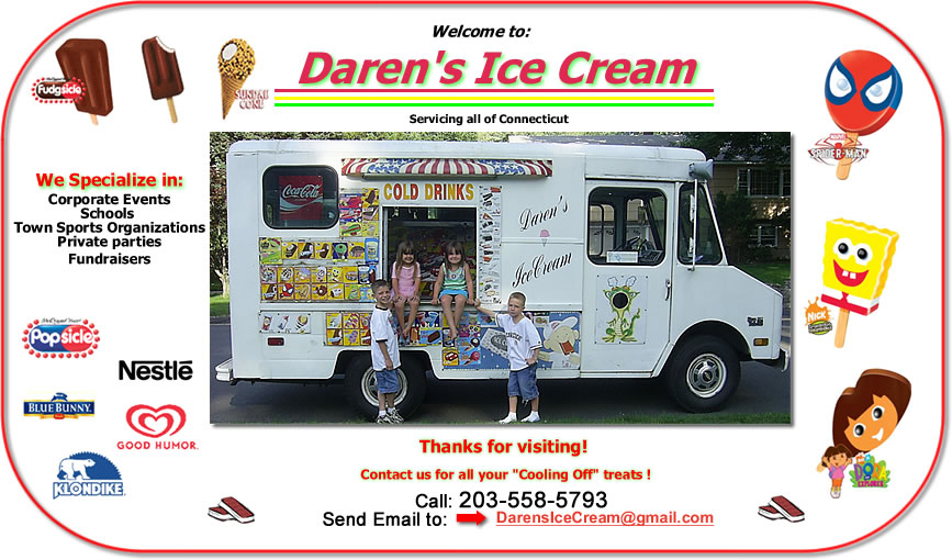 Darens Ice Cream for the World!
